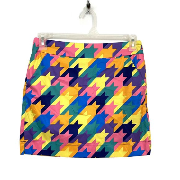 Loudmouth Dresses & Skirts - Loudmouth Multicolored Colorful Golf Skort Skirt 4